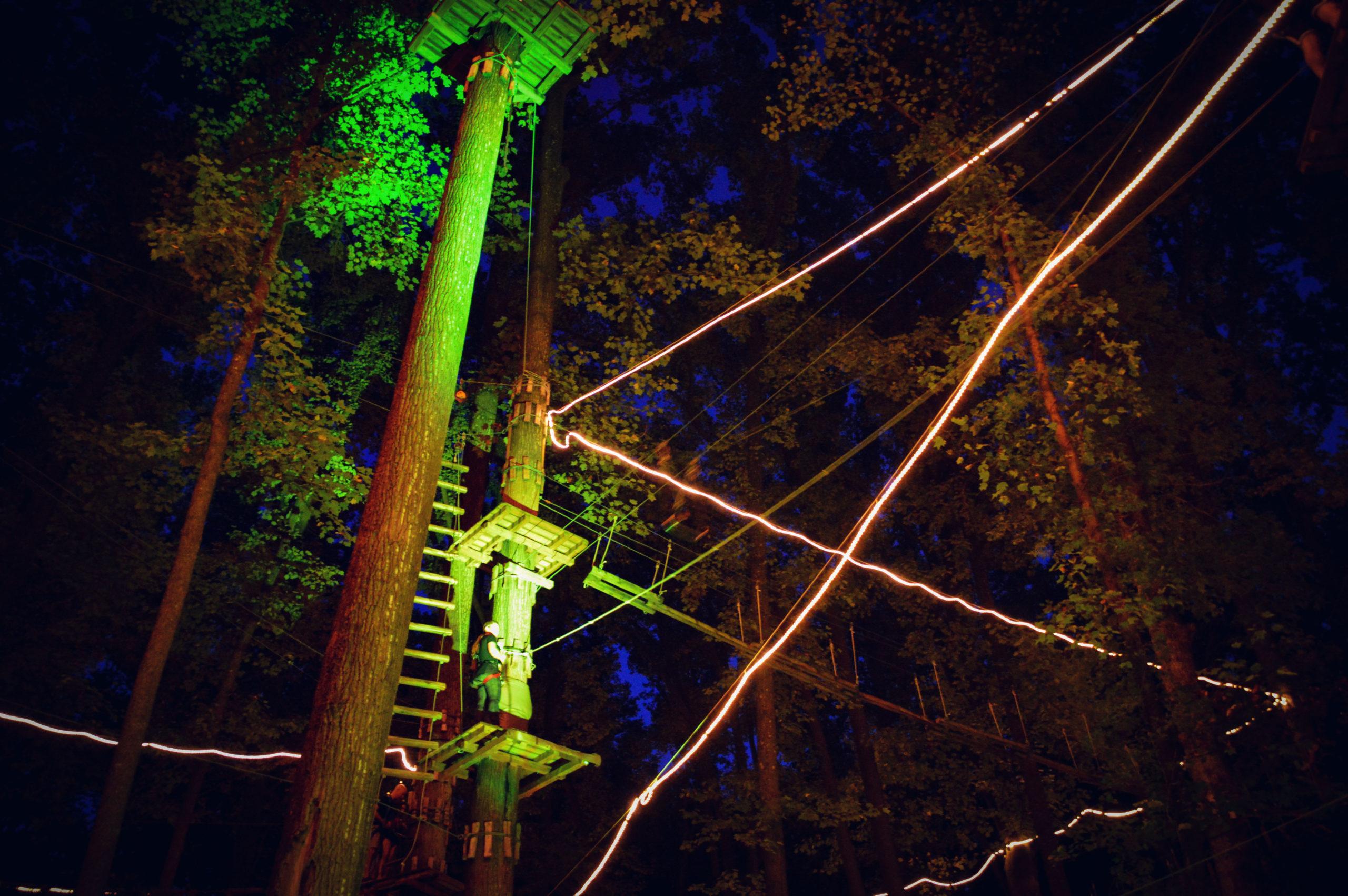 beautiful night adventure park maryland
