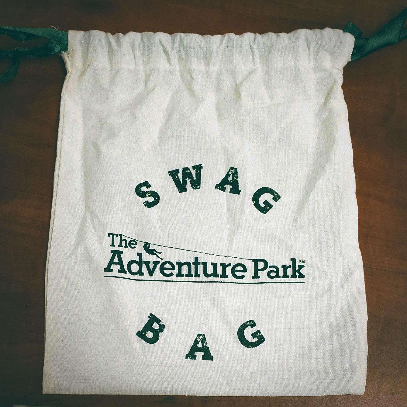adventure park swag bag birthdays